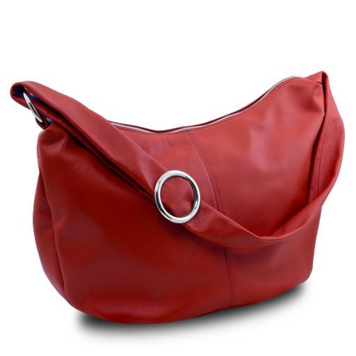 Yvette Soft leather Hobo Bag_12