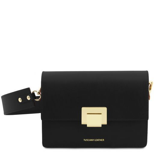 Adele Smooth Leather Clutch_13
