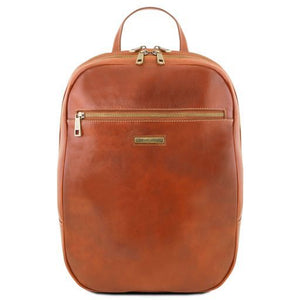 Osaka Vegetable Tanned Leather Laptop Backpack_1