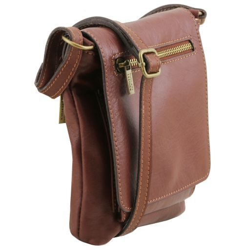 Sasha Unisex Soft Leather Messenger Bag_2