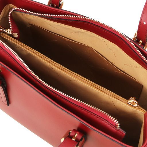Aura Smooth Leather Satchel_30