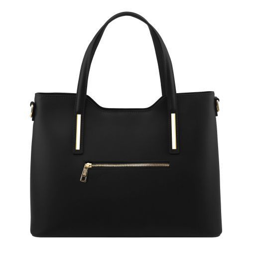 Olimpia Smooth Leather Tote (M)_25