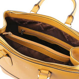 TL Saffiano Leather Satchel _25