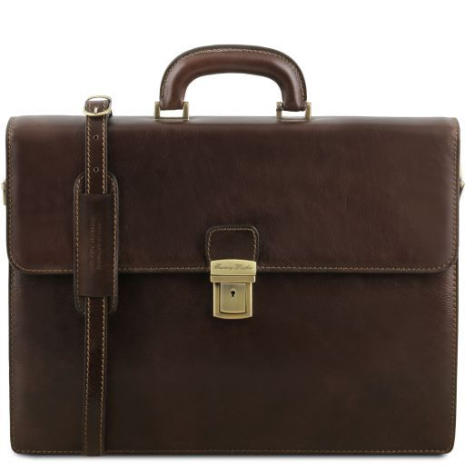Parma Vegetable Tanned Leather Briefcase _10