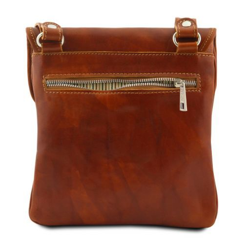 Joe Vegetable Tanned Leather Crossbody Bag _5