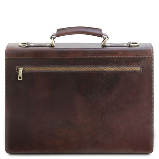 Cremona Vegetable Tanned Leather Briefcase_4