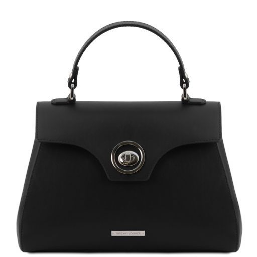 TL Smooth Leather Top Handle Bag_16