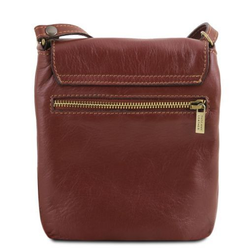 Sasha Unisex Soft Leather Messenger Bag_3