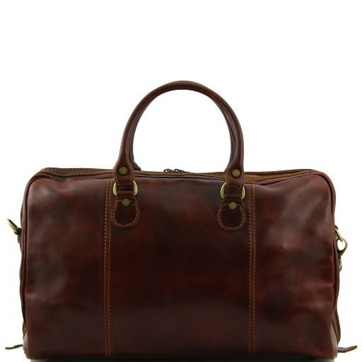 Paris - Travel leather duffle bag_4