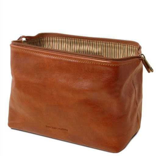 Smarty - Leather toilet bag - Large size_15