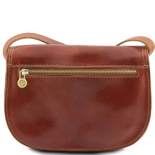 Isabella Vegetable Tanned Leather Shoulder Bag_6