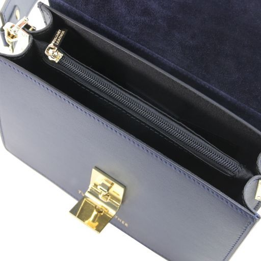 Adele Smooth Leather Clutch_11