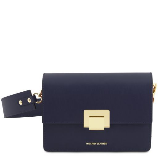 Adele Smooth Leather Clutch_4