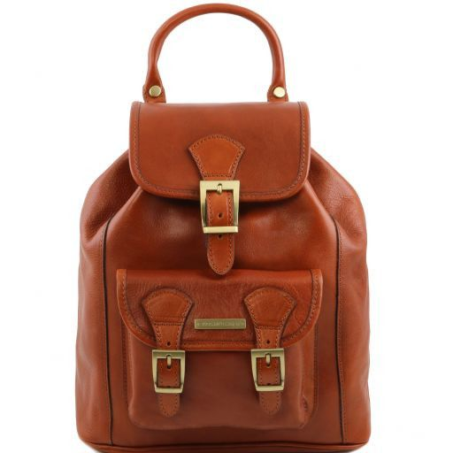 Kobe  Vegetable Tanned Leather Backpack_9