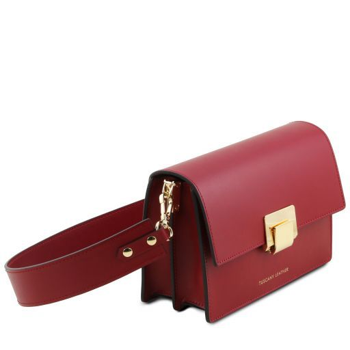 Adele Smooth Leather Clutch_2