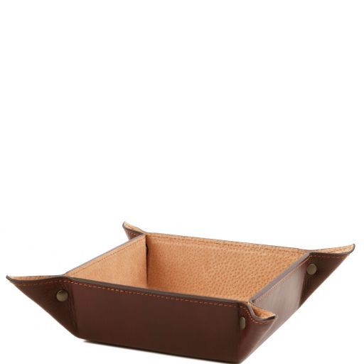 Full Grain Leather Valet Tray Large size_6