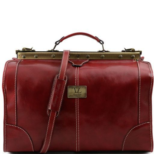 Madrid - Gladstone Leather Bag - Small size_7
