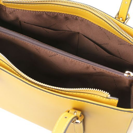 Aura Smooth Leather Satchel_7
