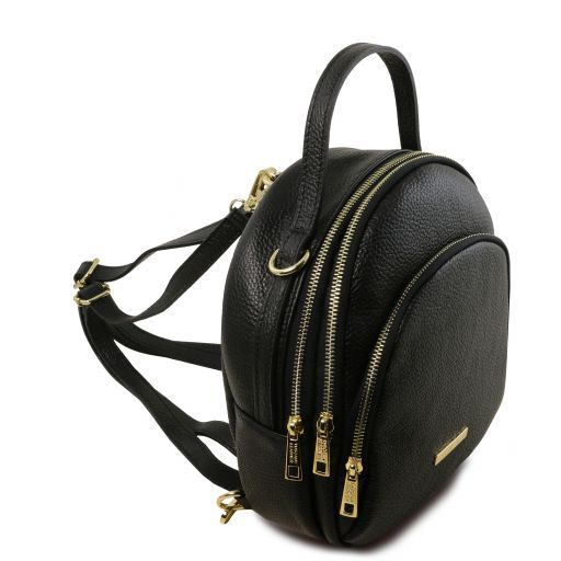 TL Hammered Leather Backpack For Women_12
