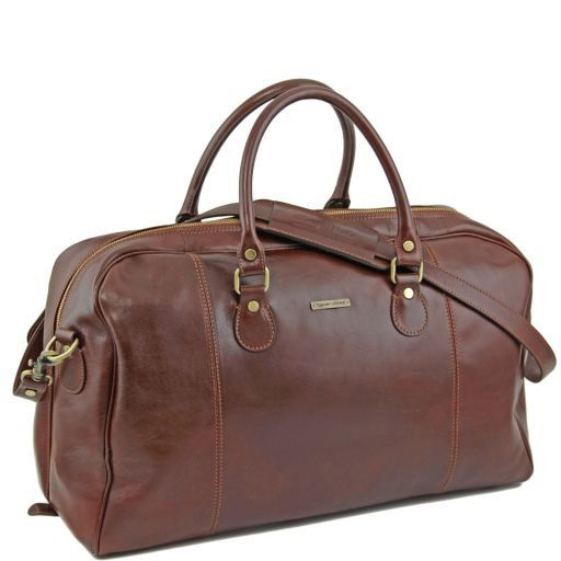 TL Voyager - Travel leather duffle bag_8
