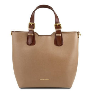 TL Saffiano Leather Tote_1