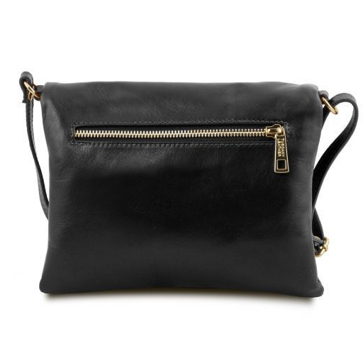 TL Young Soft Leather Shoulder Bag With Tassel_15