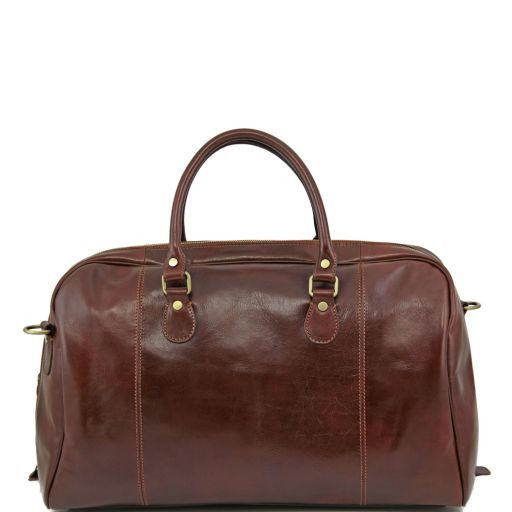 TL Voyager - Travel leather duffle bag_4