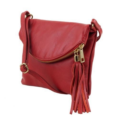 TL Young Soft Leather Shoulder Bag With Tassel_20