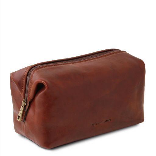 Smarty - Leather toilet bag - Large size_2