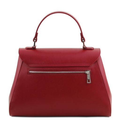 TL Smooth Leather Top Handle Bag_11