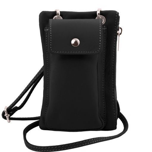 TL Soft Leather Phone Pouch Mini Cross Bag_13