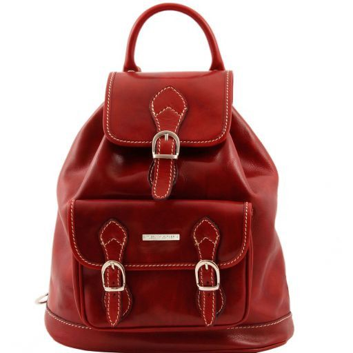Singapore Vegetable Tanned Leather Backpack_10