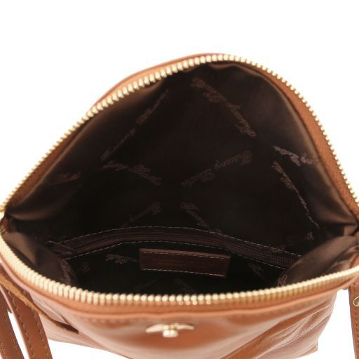 TL Young Soft Leather Shoulder Bag With Tassel_5