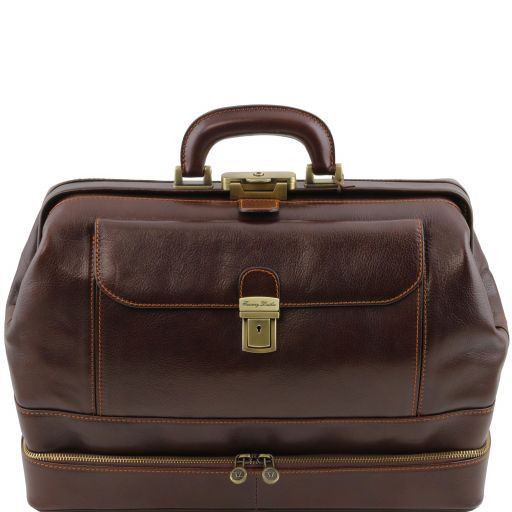 Giotto Vegetable Tanned Leather Doctor bag_1