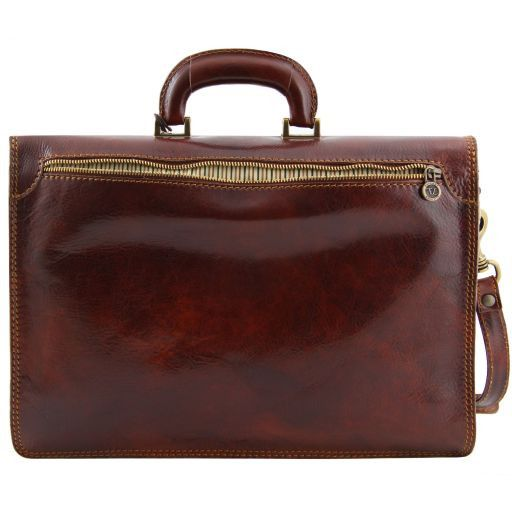 Amalfi Vegetable Tanned  Leather Briefcase_3