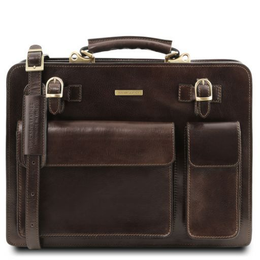 Venezia Vegetable Tanned Leather Briefcase_9
