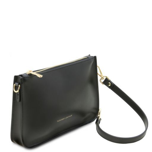 Cassandra Smooth Leather clutch handbag_6