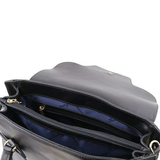 NeoClassic Full Grain Leather Satchel with twist lock_13