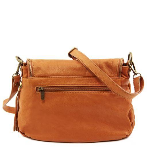 TL Soft Leather Shoulder Bag with Tassel_6