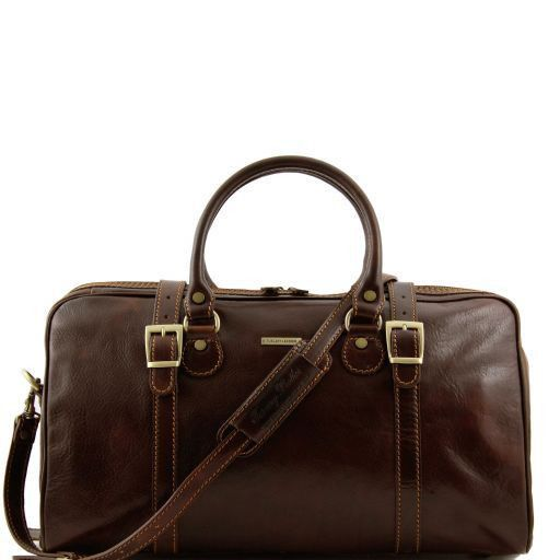 Berlin - Travel leather duffle bag - Small size_6