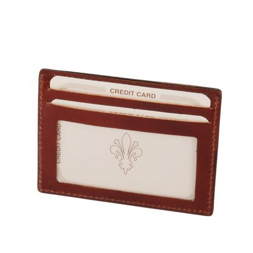 Full Grain Leather Credit/Business Card Case_2