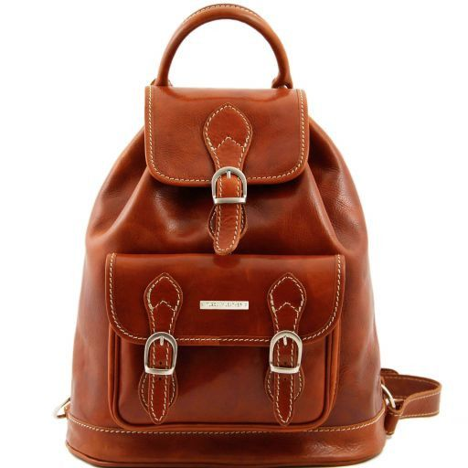Singapore Vegetable Tanned Leather Backpack_11