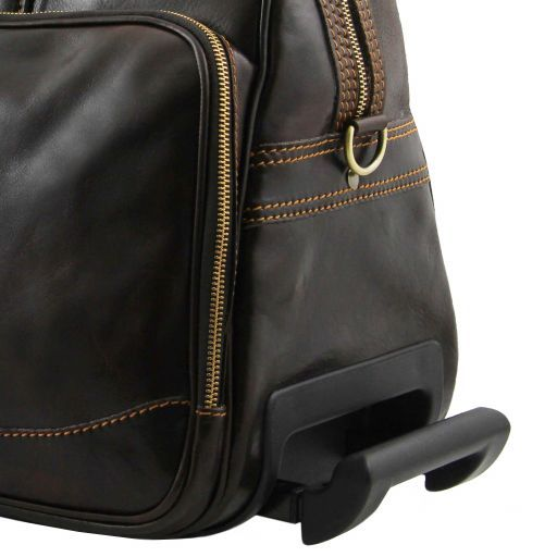Bora Bora - Trolley leather bag - Small size_5