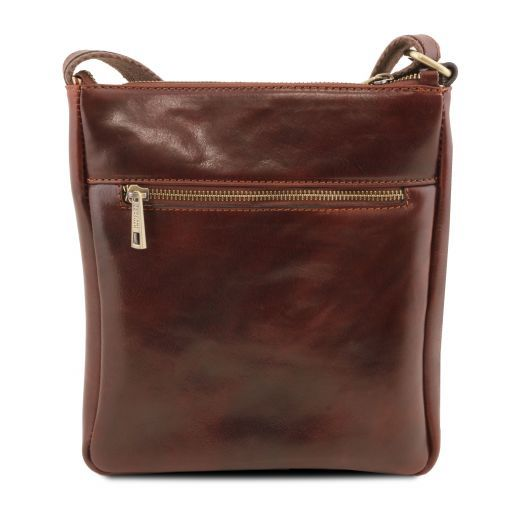 Jason Vegetable Tanned Leather Messenger Bag for Men_3