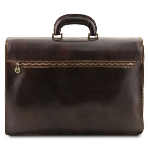 Napoli Vegetable Tanned Leather Briefcase_6