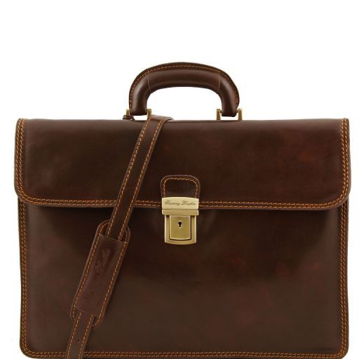 Parma Vegetable Tanned Leather Briefcase _7