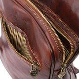 Oscar Vegetable Tanned Leather Messenger Bag for Men_8