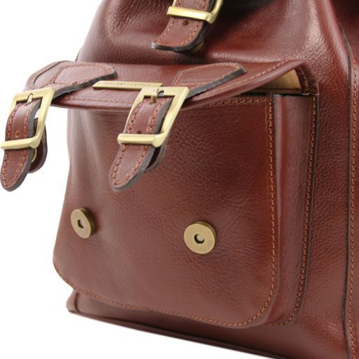 Kobe  Vegetable Tanned Leather Backpack_3