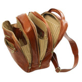 Phuket Vegetable Tanned Leather Laptop Backpack_3