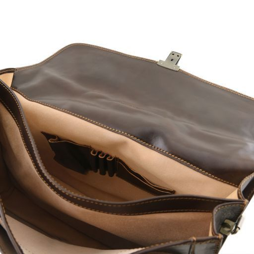 Napoli Vegetable Tanned Leather Briefcase_5